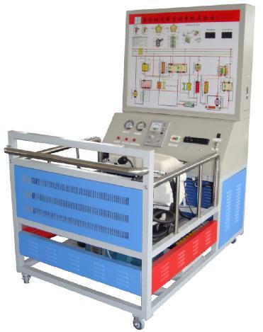 (二)桑塔纳空调实验台结构组成